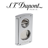S.T. Dupont - Double Blade S & V Cigar Cutter - Chrome