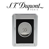 S.T. Dupont - Cigar Cutter & Cigar Stand in One - Black Lacquer & Chrome