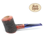 Mastro Geppetto - Rusticato -Poker  (Rustic) - 9mm Filter Pipe