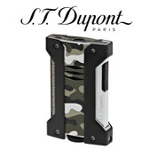 S.T. Dupont - Defi Extreme - Camo Grey - Single Jet Torch Lighter