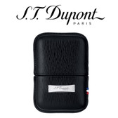 ST Dupont - Black Leather Lighter Case - For Ligne 2 & Gatsby