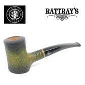 Rattrays - Eldritch -  21 Green Sandblast - 9mm Filter Pipe