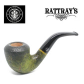 Rattrays - Eldritch -  15 Green Sandblast - 9mm Filter Pipe