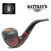 Rattrays - Eldritch -  15 Red Sandblast - 9mm Filter Pipe