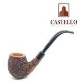 Castello -  Sea Rock Briar -  Bent Billiard (KK)  - Pipe