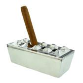 Aluminium Cigar Ashtray - 4 Hole