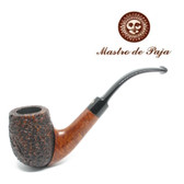 Mastro de Paja -  Vintage - Bent Billiard  Pipe