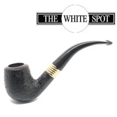 Alfred Dunhill - Shell Briar - 4 102 - Group 4 - Gold Band - White Spot