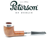 Peterson - Spigot Natural - 106 - Sterling Silver Cap Pipe