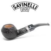 Savinelli -  Joker Rusticated Pipe - 624 - 6mm Filter