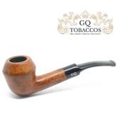 GQ Tobaccos - Caramel Briar - Matt Tall Bulldog - 9mm Filter Pipe