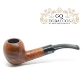 GQ Tobaccos - Caramel Briar - Matt  Egg - 9mm Filter Pipe