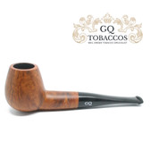 GQ Tobaccos - Caramel Briar - Matt  Brandy - 9mm Filter Pipe