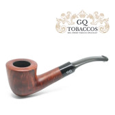 GQ Tobaccos - Cinammon Briar - Matt  Bent Dublin - 9mm Filter Pipe