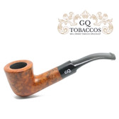 GQ Tobaccos - Caramel Briar - Matt  Dublin - 9mm Filter Pipe