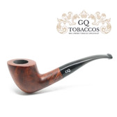 GQ Tobaccos - Cinammon Briar - Matt  Bent Acorn - 9mm Filter Pipe