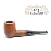 GQ Tobaccos - Caramel Briar - Matt  Billiard - 9mm Filter Pipe