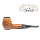 GQ Tobaccos - Caramel Briar -  Brandy - 9mm Filter Pipe