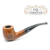 GQ Tobaccos - Caramel Briar -  Semi Bent - 9mm Filter Pipe