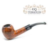 GQ Tobaccos - Caramel Briar - Egg - 9mm Filter Pipe