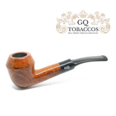 GQ Tobaccos - Caramel Briar - Tall Bulldog - 9mm Filter Pipe