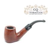 GQ Tobaccos - Cinammon Briar - Flat Bottom - 9mm Filter Pipe