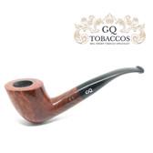 GQ Tobaccos - Cinammon Briar - Bent Acorn - 9mm Filter Pipe