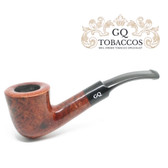 GQ Tobaccos - Cinammon Briar -  Bent Dublin - 9mm Filter Pipe
