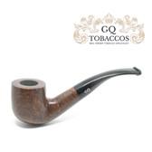 GQ Tobaccos - Truffle Briar - Bent Pot Pipe