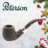 Peterson - Christmas Pipe 2019  - 68 Sandblast Sterling Silver Mount  - 9mm