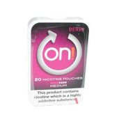On! - Berry Medium - Tobacco Free Chew Bags - 4mg