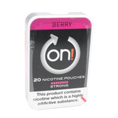 On! - Berry Strong - Tobacco Free Chew Bags - 8mg