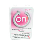 On! - Berry Light - Tobacco Free Chew Bags - 2mg