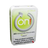 On! - Citrus Light - Tobacco Free Chew Bags - 2mg