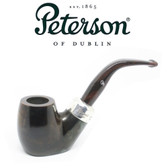 Peterson - Ashford - 304 - Sterling Silver Mount - Fishtail Pipe