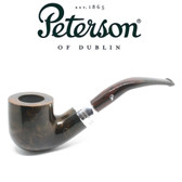Peterson - Ashford - 01 - Sterling Silver Mount - Fishtail Pipe