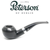 Peterson - 999  Cara - Sterling Silver Band - Fishtail Pipe