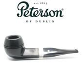 Peterson - 150  Cara - Sterling Silver Band - Fishtail Pipe
