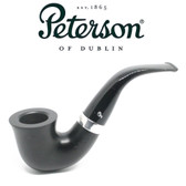 Peterson - 05  Cara - Sterling Silver Band - Fishtail Pipe