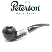 Peterson - 80s  Cara - Sterling Silver Band - Fishtail Pipe