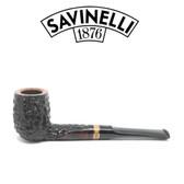 Savinelli - Porto Cervo 110 - Rustic - 6mm Filter Pipe