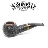 Savinelli - Porto Cervo 320 - Rustic - 6mm Filter Pipe