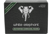 White Elephant - Activated Charcoal Filters 9mm - 40 Pack