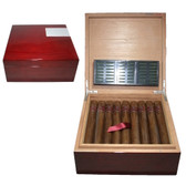 Dunhill - Signed Range - Churchill - Lacquer Humidor with 25 Cigars