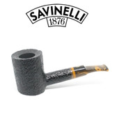 Savinelli - Tigre 311 - Rusticated Black - 6mm Filter Pipe