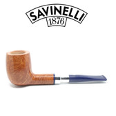 Savinelli - Eleganza 111 - Smooth Natural  - 6mm Filter Pipe