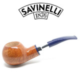 Savinelli - Eleganza 320 - Smooth Natural  - 6mm Filter Pipe