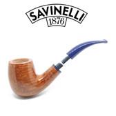 Savinelli - Eleganza 606 - Smooth Natural  - 6mm Filter Pipe
