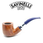 Savinelli - Eleganza 622 - Smooth Natural  - 6mm Filter Pipe