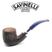 Savinelli - Eleganza 622 - Brownblast  - 9mm Filter Pipe